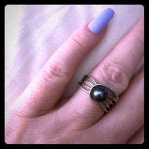 Vantel Pearls Stellar Nights Ring